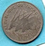 (r65)  TCHAD / CHAD  100 Francs 1971  KM#2 - Chad