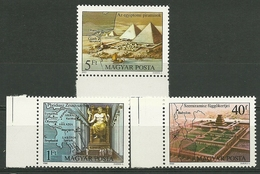 1980 Hungary Wonders Of The World MNH - P1290 - Unused Stamps