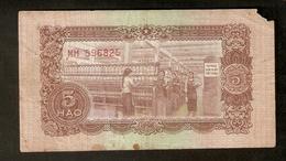 T. North Vietnam 5 Hao 1958 Ser. MH 596825 - Vietnam