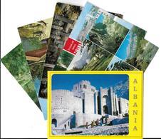 ALBANIE ALBANIA -Lot,Ensemble 6 Cartes  Voir Scans  R/V De Toutes Les Cartes *PRIX FIXE - Albanie
