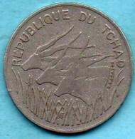 (r65)  TCHAD / CHAD  100 Francs 1975  KM#3 - Chad