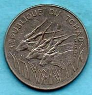 (r65)  TCHAD / CHAD  100 Francs 1982  KM#3 - Chad