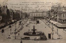 BORDEAUX LE GRAND THÉÂTRE LES ALLÉES DE TOURNY - Bordeaux