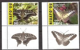 Tonga Niuafo'ou 2016 Yvertn° 403A-403B *** MNH Cote 162,80 Euro Faune Papillons Vlinders Butterflies - Tonga (1970-...)