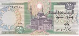 BILLETE DE EGIPTO DE 20 POUNDS DEL AÑO 1987 SIN CIRCULAR-UNCIRCULATED (BANKNOTE) - Egipto