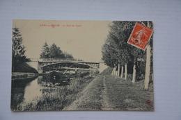SIVRY-sur-MEUSE-le Pont Du Canal-peniche - France