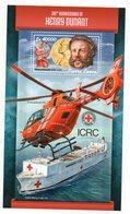 SIERRA-LEONE - CROIX-ROUGE - RED CROSS - 190 éme ANNIVERSAIRE - 190 Th BIRTHDAY - HENRI DUNANT - 2018 - B/F - M/S - - Sierra Leone (1961-...)