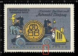 Old German Poster Stamp Cinderella Reklamemarke Vignette Erinnofili Publicité Brauerei Brauhaus Bier Bräu Brewery Beer - Biere