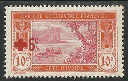 COTE D'IVOIRE 1915 YT 58** MNH - Côte-d'Ivoire (1892-1944)