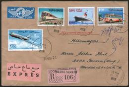Royaume Du Maroc, 3 Bedarfsbriefe 1966/67 CASABLANCA - GREVEN - Morocco (1956-...)