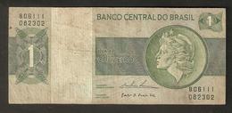 T. Brazil Banco Central Do Brasil Um Cruzeiro B06111 082302 - Brazil