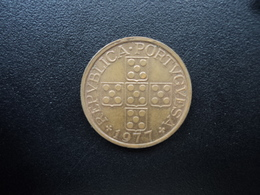PORTUGAL : 50 CENTAVOS  1977   KM 596    SUP - Portugal