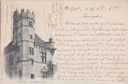 Bp - Cpa LUXEUIL - La Tour Carrée (circulé En 1899) - Luxeuil Les Bains