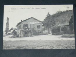 CHATILLON SUR CHALARONNE / ARDT Bourg-en-Bresse    1910  /    GARE   ....  EDITEUR - Châtillon-sur-Chalaronne