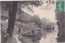 Bp - Cpa MEULAN - Le Petit Bras - Meulan