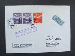 BRIEF Presov - Bratislava 1943  ////  D*32798 - Lettres & Documents