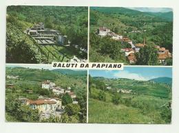 SALUTI DA PAPIANO   - VIAGGIATA FG - Arezzo