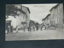 MARLIEUX  / ARDT Bourg-en-Bresse    1910  /   RUE   ....  EDITEUR - France