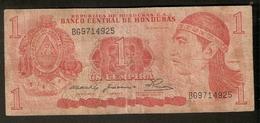 T. Republica De Honduras C.A. 1 Un Lempira Ser. BG9714925 Ruinas De Copan Juego De Pelota V Escalinata - Honduras