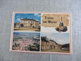 CARTE POSTALE DE  TRELOU SUR MARNE - France
