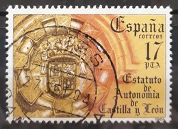 ESPAÑA 1984 Estatutos De Autonomía. USADO - USED. - 1931-Hoy: 2ª República - ... Juan Carlos I