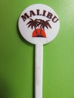 075 - Touilleur - Agitateur - Mélangeur à Boisson - Alcool Malibu Rhum Noix De Coco - Swizzle Sticks