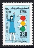 SYRIE - 1986 - N° 752 ** Journée Mondiale De La Circulation - Syria