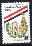 SYRIE - 1986 - N° 753 ** Journée  De La Police - Syria