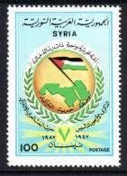 SYRIE - 1987 - N° 786 ** Anniversaire Du 7 Avril - Siria