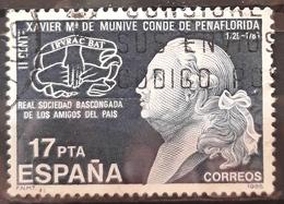 ESPAÑA 1985 Centenario Del Conde De Peñaflorida. USADO - USED. - 1931-Hoy: 2ª República - ... Juan Carlos I