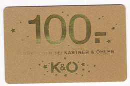 Geschenkkarte Giga Sport Kastner & Öhler Gift - Gift Cards