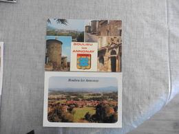 2 CARTES POSTALES   DE  BOULIEU  LES  ANNONAY - Autres Communes