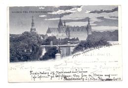 DK 3400 HILLEROD, Hilsen Fra Frederiksborg, 1899 - Danemark