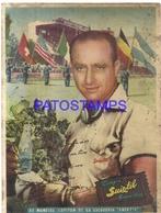 95101 ARGENTINA PUBLICITY TRAJES SUIXTIL ESCUDERIA AUTOMOBILE FANGIO POSTAL POSTCARD - Argentina