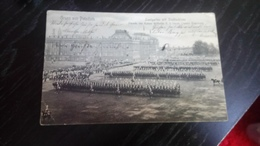 Cpa Aus Potsdam Parade Voir Kaiser Militaire - To Identify