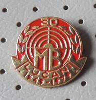 Milan Blagojevic Lucani Shooting Weapon ARMS Industry Ex Yugoslavia Serbia Pin - Archery