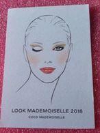 COCO MADEMOISELLE  CHANEL  LOOK MADEMOISELLE 2018 - Perfume Cards
