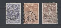71/73 Gestempeld - 1894-1896 Tentoonstellingen