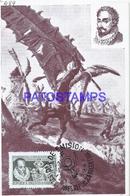 95108 ARGENTINA ART IV CENTENARIO DEL NACIMIENTO DE DON MIGUEL CERVANTES QUIJOTE NO POSTAL POSTCARD - Argentina