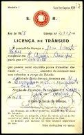 PORTUGAL, Licences, F/VF - Revenue Stamps