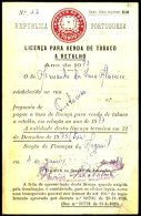 PORTUGAL, Licences, F/VF - Fiscaux