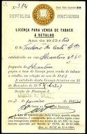 PORTUGAL, Licences, F/VF - Ungebraucht