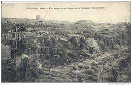 LESSINES ..-- 1909 . ELEVATEUR .  1911 Vers MONS . Voir Verso . - Lessen