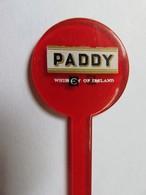082 - Touilleur - Agitateur - Mélangeur à Boisson - Paddy - Whisky Irlandais - Swizzle Sticks