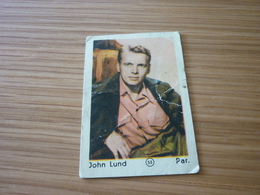John Lund Old Greek '60s Game Trading Card - Trading Cards