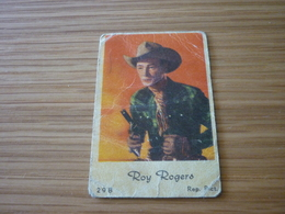 Roy Rogers Old Greek '60s Game Trading Card - Trading Cards