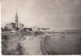 SETE - Plage De La Corniche Et L'Eglise - Sete (Cette)