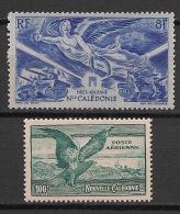 Nouvelle Calédonie - 1944-46 - Poste Aérienne PA N°Yv. 53 Et 54 - 2 Valeurs - Neuf Luxe ** / MNH / Postfrisch - Luchtpost