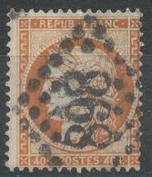 Lot N°43416   N°38, Oblit GC 898 Charleville, Ardennes (7) - 1870 Siege Of Paris