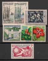 Nouvelle Calédonie - 1955-58 - N°Yv. 284 à 290 - Complet - 7v - Neuf Luxe ** / MNH / Postfrisch - Unused Stamps